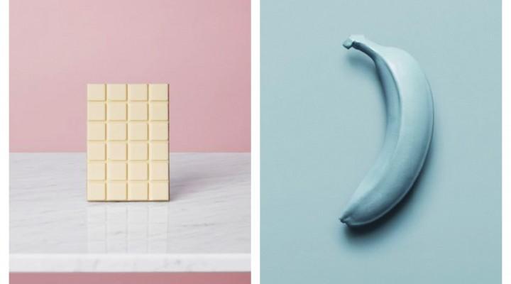 Dolce al cioccolato e allo yogurt di banana
