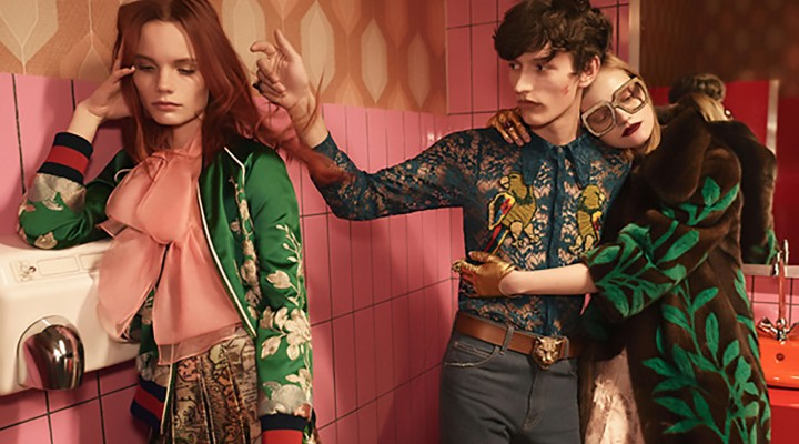 La campagna primavera estate 2016 di Gucci