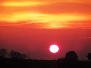 Goodbye 2015 sun