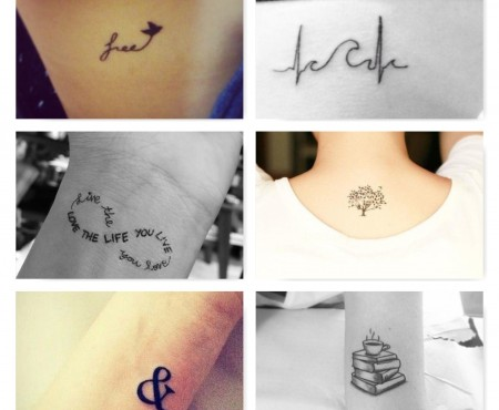 Mini tattoo: una nuova tendenza
