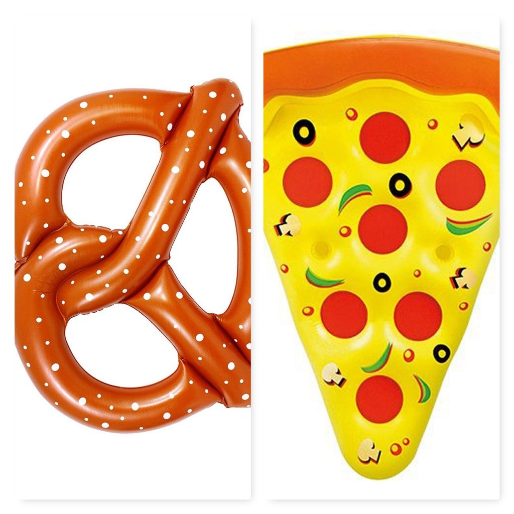 Gonfiabili estate 2017 pizza