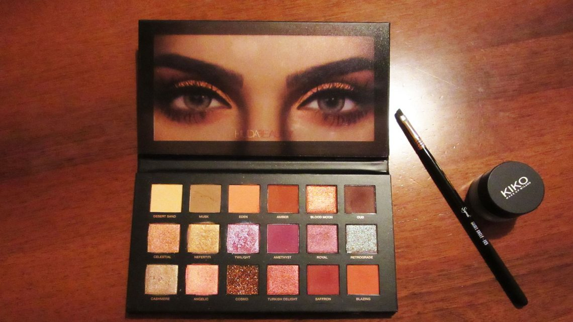 Recensione: Huda Beauty Desert Dusk Eyeshadow Palette