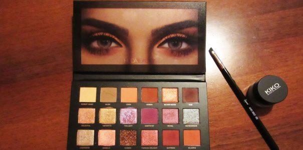 Recensione: Huda Beauty Desert Dusk Eyeshadow Palette